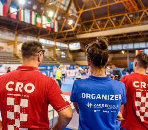 EUSA Combat 2019 Championship: 1300 students from all parts of Europe are going to stay from 31.7. to 3.8. in Zagreb